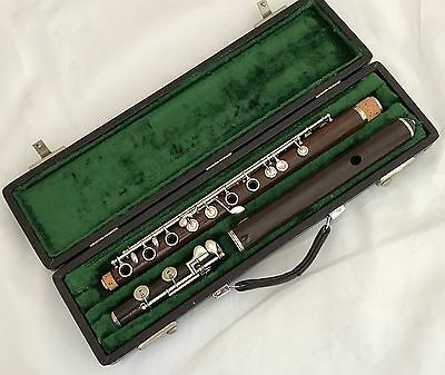 Antique Conical French Boehm System Flute by Fernand Chapelain 440Hz. - Restored