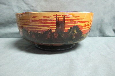 Royal Doulton D2846 Rural Churches Antique  Bowl
