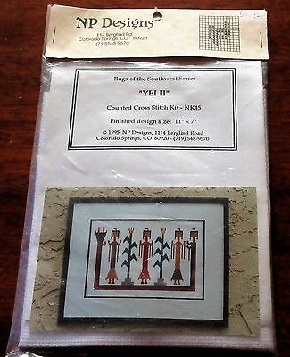 NP Designs YeI 11 Rugs of Southwest Series Counted Cross Stitch-Kit  NK45 1995