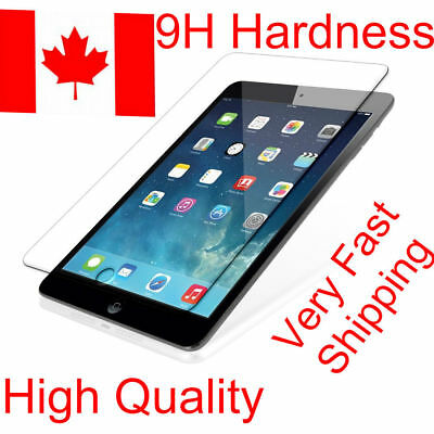 Premium Tempered Glass Screen Protector For Apple iPad Ultra Clear New All Model