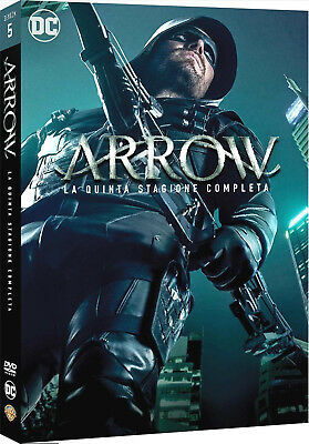 ARROW - STAGIONE 5 (5 DVD) SERIE TV DC Comics - La Quinta Stagione Completa