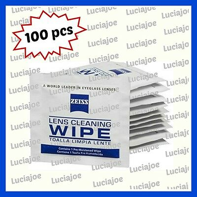 100 pre-moistened lens wipes, Camera & Photo, Accessories cadcam sunglasses cell