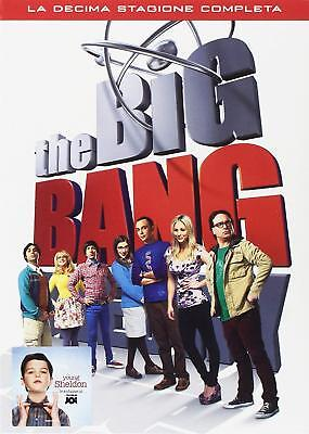 THE BIG BANG THEORY - STAGIONE 10 (5 DVD) SERIE TV Warner Home Video - Preordine