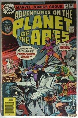 1976 Adventures Of The Planet Of The Apes  #6  -   Vg                (Inv14444)