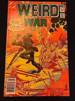 #86 - WEIRD WAR Tales - 1980