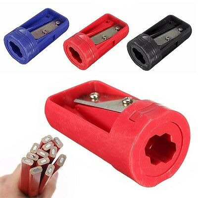 Pro Woodwork Carpenter Pencil Sharpener Cutter Shaver Narrow Sharpening Tool Kit