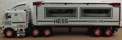 1997 Hess Toy Truck & Racers Working Lights