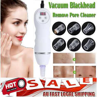 Vacuum Suction Pore Blackhead Remove Cleaner Dermabrasion Acne Suction Skin Care