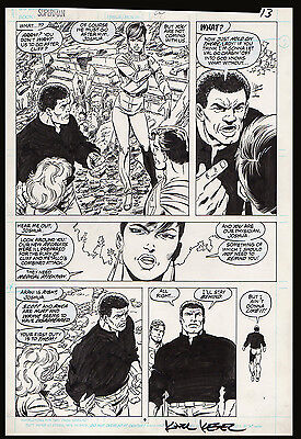 Superman #20 page 9 Art by John Byrne Doom Patrol