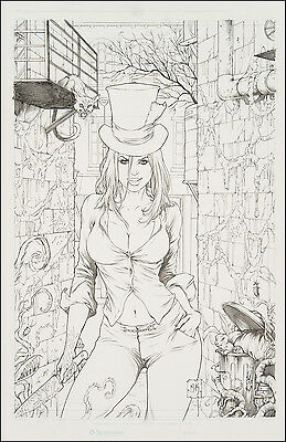 Madness of Wonderland #1 Cover Art by Mike Krome Emma Legrasse Grimm Fairy Tales