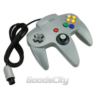 NEW Long Controller Game System for Nintendo 64 N64 Grey USA Ship