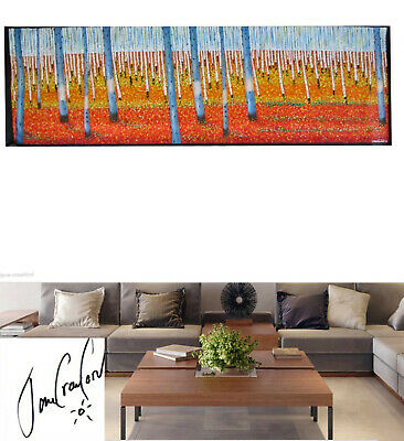 Huge original Art oil Painting Abstract canvas wall decor  By Jane HAND PAINTED