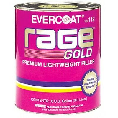 Rage Gold Body Filler NEW WITH HARDNER