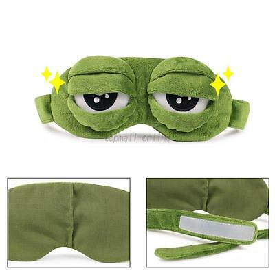 3D Cartoon Eye Mask Relax Travel Rest Sleeping Aid Blindfold Light Cover Mask