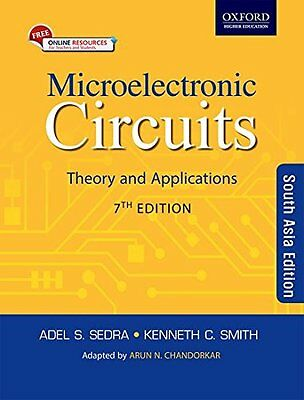 Microelectronic Circuits: Theory And Application, 7Th Edn by Adel & Smith