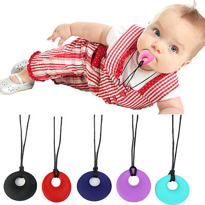 Baby Nursing Supplies for Mom Healthy Silicone Teething Pendant Necklace Soft