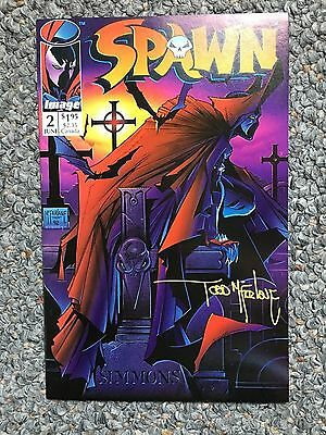 Spawn #2 AUTOGRAPHED by Todd McFarlane!