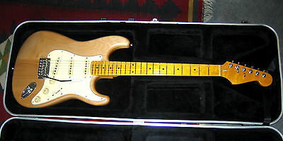 Custom built Stratocaster with Fender tuners and quality Alnico V Pickups