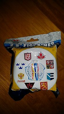 Lot 0f 5 2016 World Cup of Hockey NHL 2.5' Figure Blind Foil Bag Imports Dragon