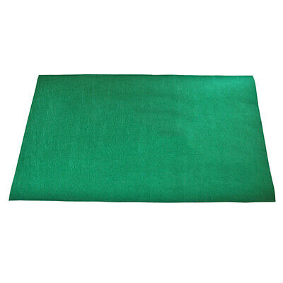 Green Non-woven Mat Game Table Cover Casino Layout Poker Cloth for Texas 'em