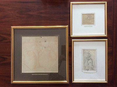 Original idea sketches by British artist Sir Stanley Spencer CBE RA