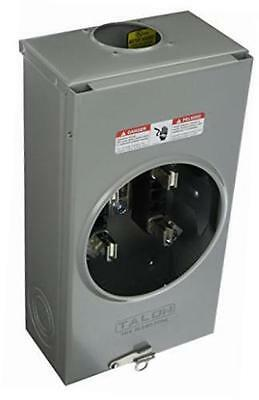 200 Amp 4 Jaw Overhead Fed Meter Socket with Stainless Steel Latch Siemens