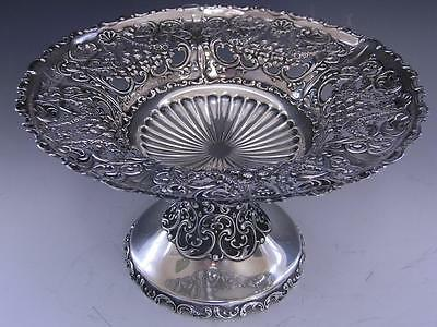 Incredible Sterling WHITING footed Compote / Dish IMPERIAL QUEEN