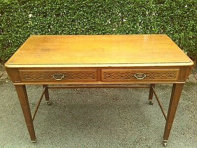 Maple & Co Antique Hall/Console Table Solid Oak/Mahogany