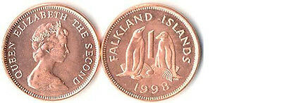 Falkland Islands 4 Different Uncirculated Coin Set