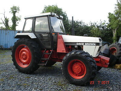 David Brown 1690 Case 4WD 6 Cylinder Non Turbo With Loader Can be Delivered.