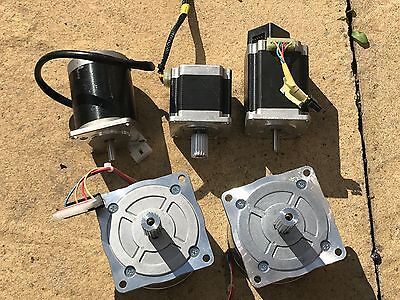 Lot Of 5 Precise Electric Motors Heavy Duty