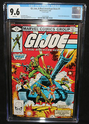 G.I. Joe, A Real American Hero #1 - Based on Hasbro Toy Line - CGC 9.6 - 1982