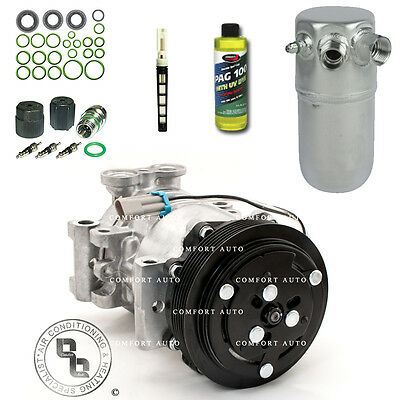 New AC Compressor Kit Fits: 1996 - 1999 Chevy Suburban 1500 / 2500 With Rear A/C