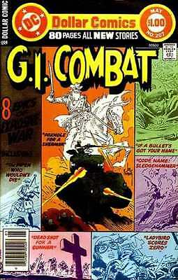 G.I. Combat (1957 series) #207 in Fine condition. FREE bag/board
