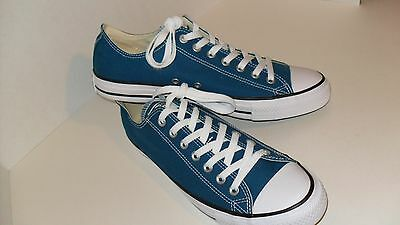 76c9167626ca80 Converse Chuck Taylor All Star Ox Blue Lagoon Unisex Sneakers Shoes Sz Men s  10