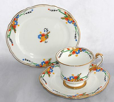 Art Deco Hand Painted Vintage Paragon Trio - F1321 Rd No 744170 - Multiple Avail