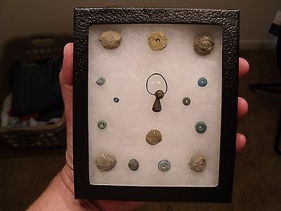 Cherokee Indian Trade Artifacts/ Musketballs/ Beads/ Tellico Plains, Tennessee.