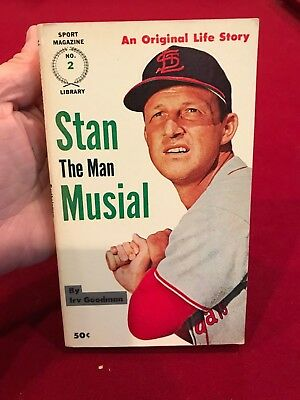STAN MUSIAL Poster 01 Various Sizes SPORTS ILLUSTRATED COVER