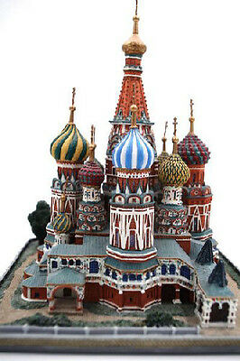 Danbury Mint Collection St. Basil's Cathedral Wonders Russia Basil 1995 Moscow