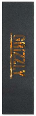 "GRIZZLY SKATEBOARD GRIP TAPE SHEET - 9"" x 33"" - TPUDS WILD"