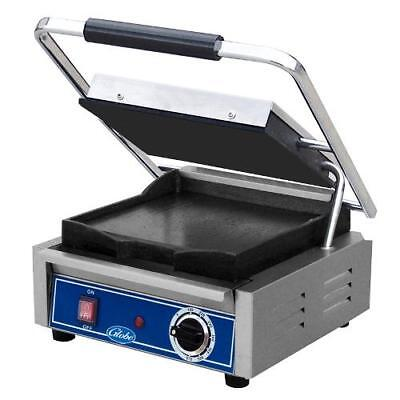 Globe - GSG10 - Single Bistro Panini Grill with Smooth Plates