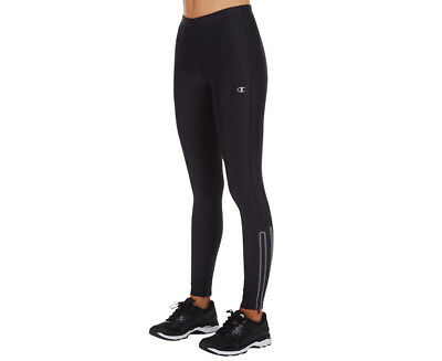Champion Women's Lights Full Length Zip Tight - Black