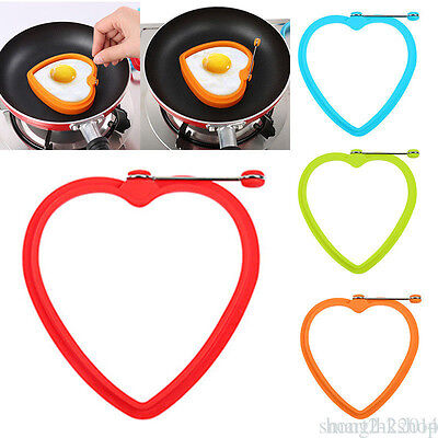 1 PCS Silicone Egg Frying Fry Mold Pancakes Kitchen Accessories OK3
