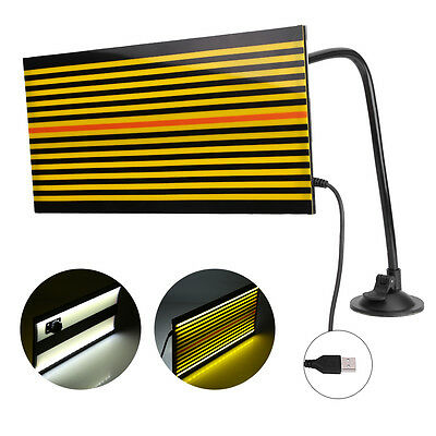 Paintless Dent Repair Tool Removal Checking Reflector Line Board + LED Light ES
