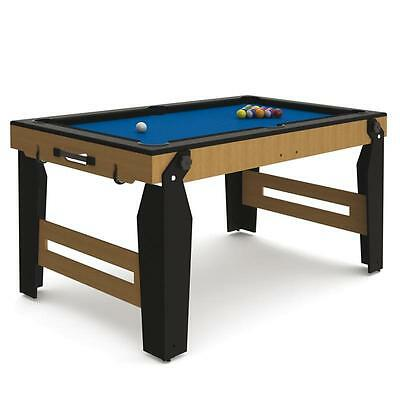 Top Riley Klappbar Billardtisch Pool Billard Tischbillard Poolbillard Queues Neu