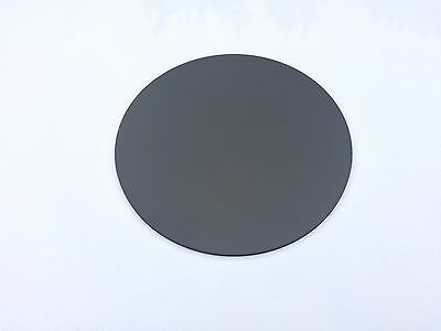 Black Plastic Circles Discs ABS Black Smooth 2mm, 3mm (VAT Invoice Supplied)