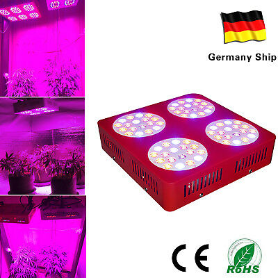 ZNET4 Full Spectrum LED Grow Light Input Hydroponics Grow 3~5 Plants HPS Replace