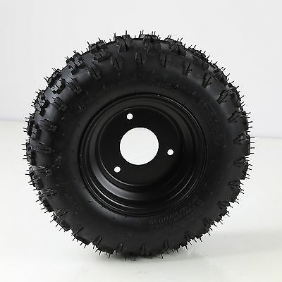 Knobby off road tire / tyre and rim 13x5-6 - Go kart Buggy ATV Scooter