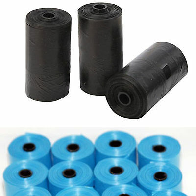 20x Rolls Portable 300 Dog Pet Waste Poop Poo Refill Core Pick Up Clean-Up Bags