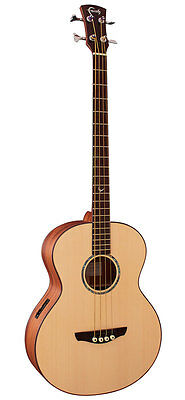 Faith Titan Natural Acoustic Bass Electro